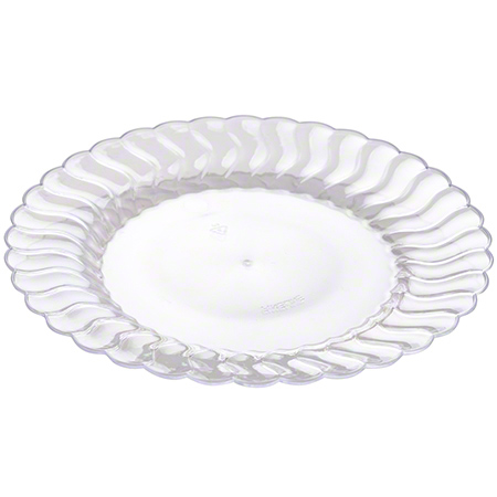 "Fineline Settings Flairware™ Dessert Plate - 6"", Clear"