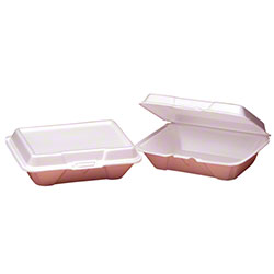Genpak® Large Deep 1 Comp. All Purpose Container - White