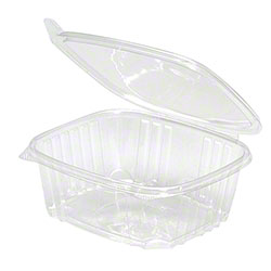 Genpak® Regular Lid, Clear Deli Container - 32 oz.