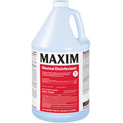 Maxim® Neutral Disinfectant - Gal., Lemon Scented