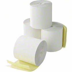 "Specialty Roll 2 Ply WCB/CCF Paper - 3"" x 100'"