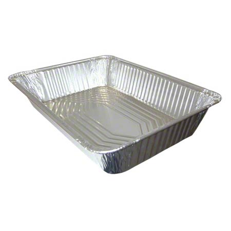 Western Plastics Full Aluminum Steam Table Pan - Deep