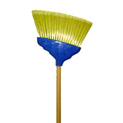 "Abco Medium Angle Broom - 48"" x 7/8"""