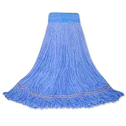 Abco Blended Looped End Mop - Medium, Blue