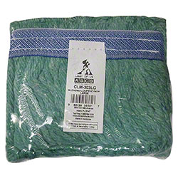 Abco Blended Looped End Mop - Medium, Green
