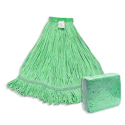 Abco Blended Looped End Mop - Large, Green