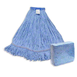 Abco Blended Looped End Mop - Large, Blue