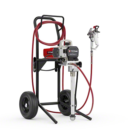 Titan® Impact® 410 High Rider Electric Airless Disinfectant Sprayer