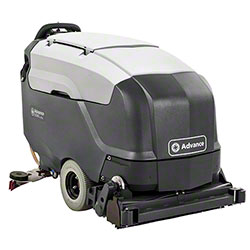 "Advance SC901 34C Walk-Behind Scrubber-32"" Cylindrical,310AH"