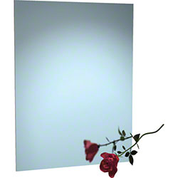 "ASI Frameless Stainless Steel Mirror - 24"" x 36"""