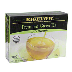 Bigelow® Premium 100% Organic Green Tea - 160 ct.
