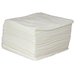 "HOSPECO® Health Gards® Disposable Dry Washcloth- 12""x13"""
