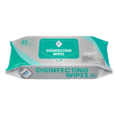 WipesPlus® Disinfecting Surface Wipes - 80 ct. Refill