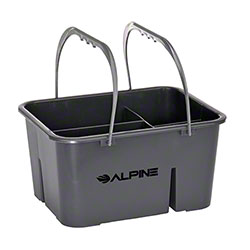 Alpine 4-Compartment Plastic Cleaning Caddy