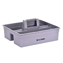 Alpine Plastic 3-Compartment Cleaning Caddy - Purple
