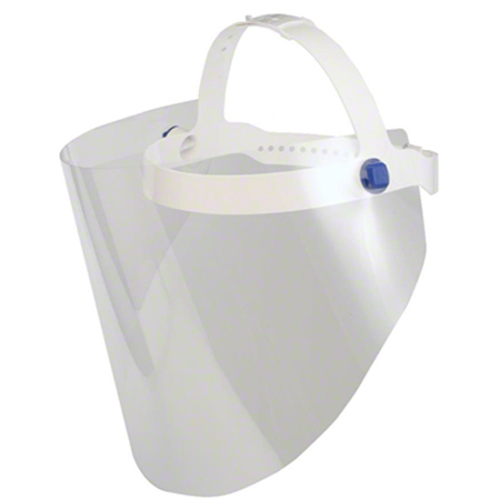 IDC Face Shield w/Adjustable Harness - Child 7""