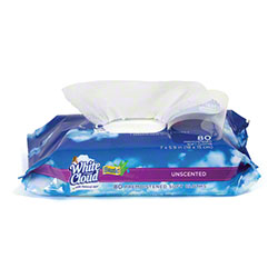 White Cloud® Basic Baby Wipes - 80 ct., Unscented