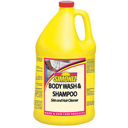 Simoniz® Body Wash & Shampoo - Gal.