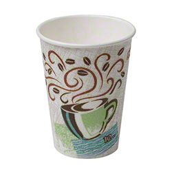 Dixie® PerfecTouch™ Coffee Haze Paper Hot Cup -12 oz.