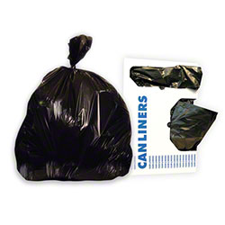 Heritage Bag Stock Trash Bag - 24x32, 1 mil, Black