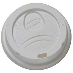 Dixie® White Dome Lid For 8 oz. Paper Hot Cup