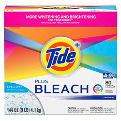 P&G Ultra Tide® Plus w/Bleach - 144 oz.