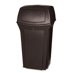 Rubbermaid® Ranger® Container - 35 Gal., Brown