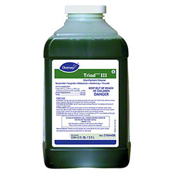 Diversey Triad™ III Disinfectant Cleaner - 2.5 L. J-Fill
