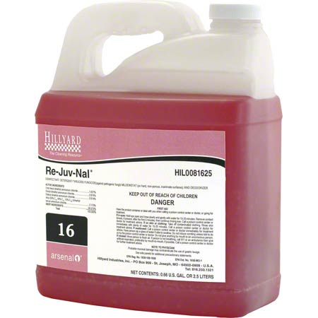 Hillyard Arsenal® 1 #16 Re-Juv-Nal® Disinfectant - 2.5 L