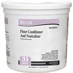 Hillyard Arsenal® #31 Floor Conditioner Neutralizer -90 ct