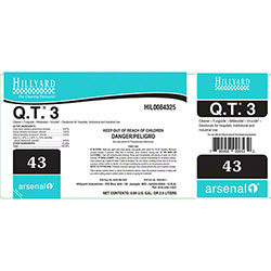 Hillyard #43 Arsenal® Q.T. 3 Label