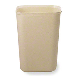Rubbermaid® Fire Resistant Wastebasket - 40 Qt., Beige