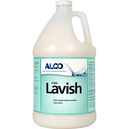 Alco Lavish White Lotion Hand Cleaner - Gal.
