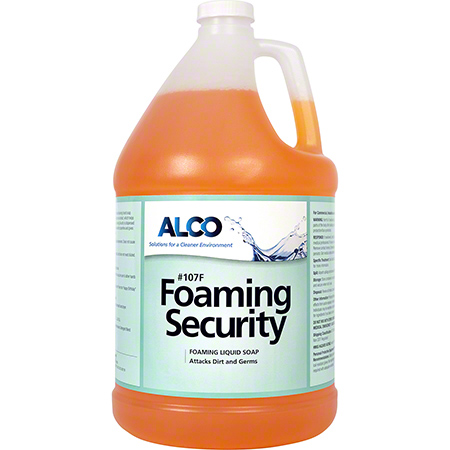 Alco Foaming Security Foaming Liquid Hand Soap - Gal.
