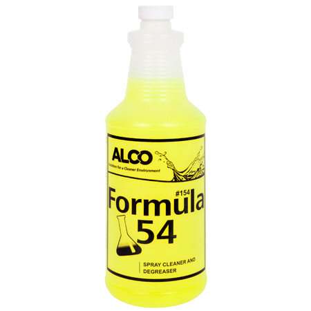 Alco Formula 54 Ultimate Spray Cleaner Degreaser - 55 Gal.
