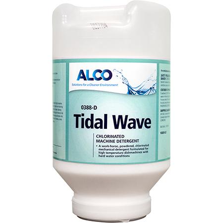 Alco Tidal Wave Dishmachine Detergent - 8 lb. Jar