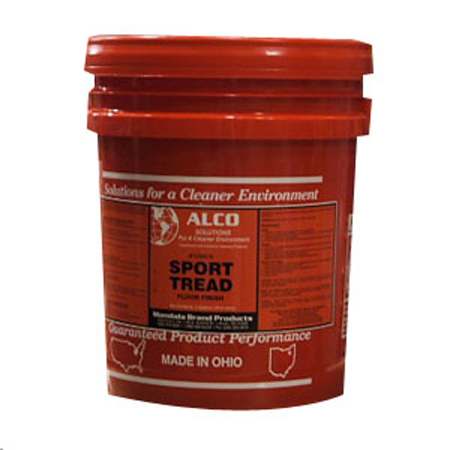 Alco Sport Tread Sports Floor Finish - 5 Gal. Pail
