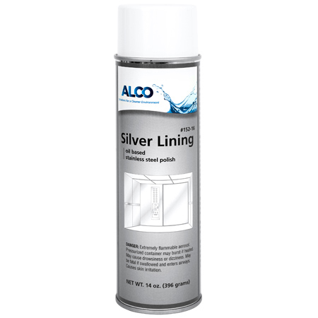 Alco Silver Lining Stainless Steel & Metal Polish