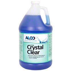 Alco Crystal Clear Glass & Hard Surface Cleaner - Gal.