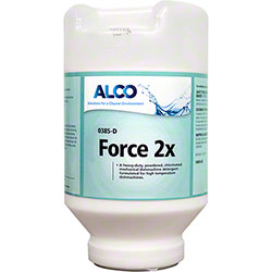 Alco Force 2X Dishmachine Detergent - 8 lb. Jar