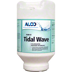 Alco Tidal Wave Dishmachine Detergent - 8 lb. Jar