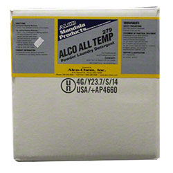 Alco All Temperature Laundry Detergent - 50 lb. Box