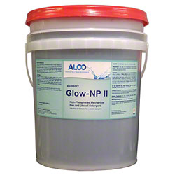 Alco Glow-NP II Non-Phosphate Mechanical Detergent - 5 Gal.
