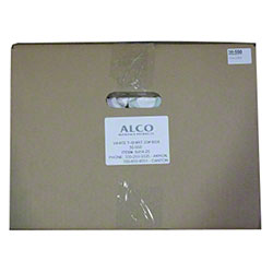 Alco Bleached White Cotton Knit Re-laundered Rags - 25# Box
