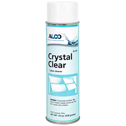 Alco Foaming Crystal Clear Window Cleaner - 20 oz. Can
