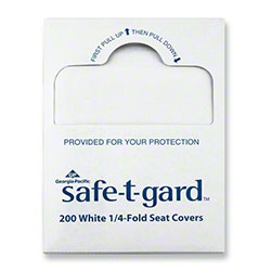 GP Pro™ Safe-T-Gard™ 1/4 Fold Toilet Seatcover