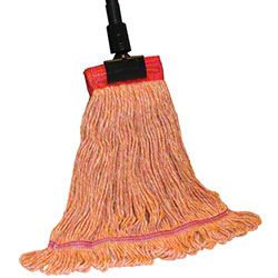 PRO-LINK® Standard Loop End Wet Mop - Large, Orange