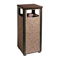 Rubbermaid® Aspen Waste Container - 12 Gal., Brown