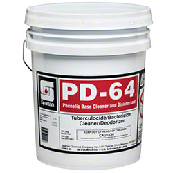 Spartan PD-64 Phenolic Disinfectant - 5 Gal.
