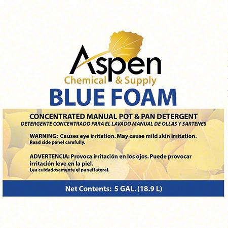 Aspen Blue Foam Premium Concentrated Manual Pot & Pan-5 Gal.